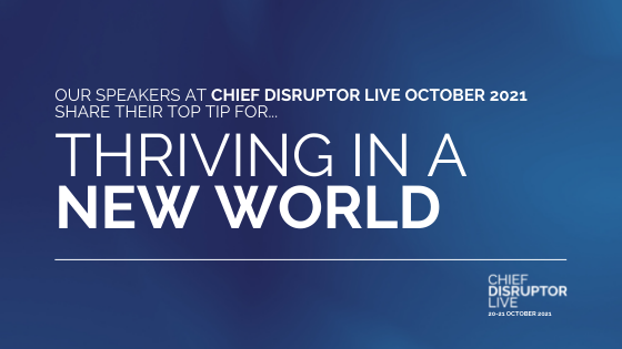 Meet the disruptive business and technology leaders who are thriving in a new world