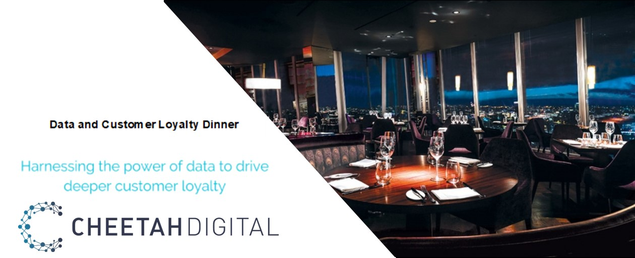 Data and Customer Loyalty Dinner